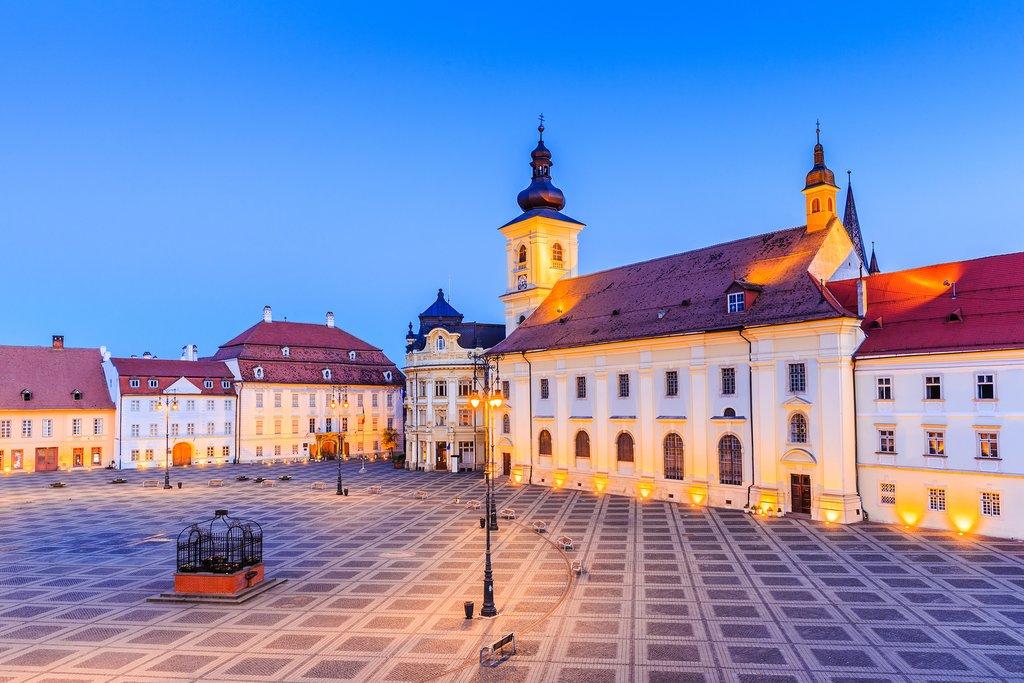 The Big Square in Sibiu