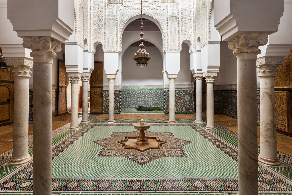 Mausoleum Moulay Ismail, Meknes, Morocco