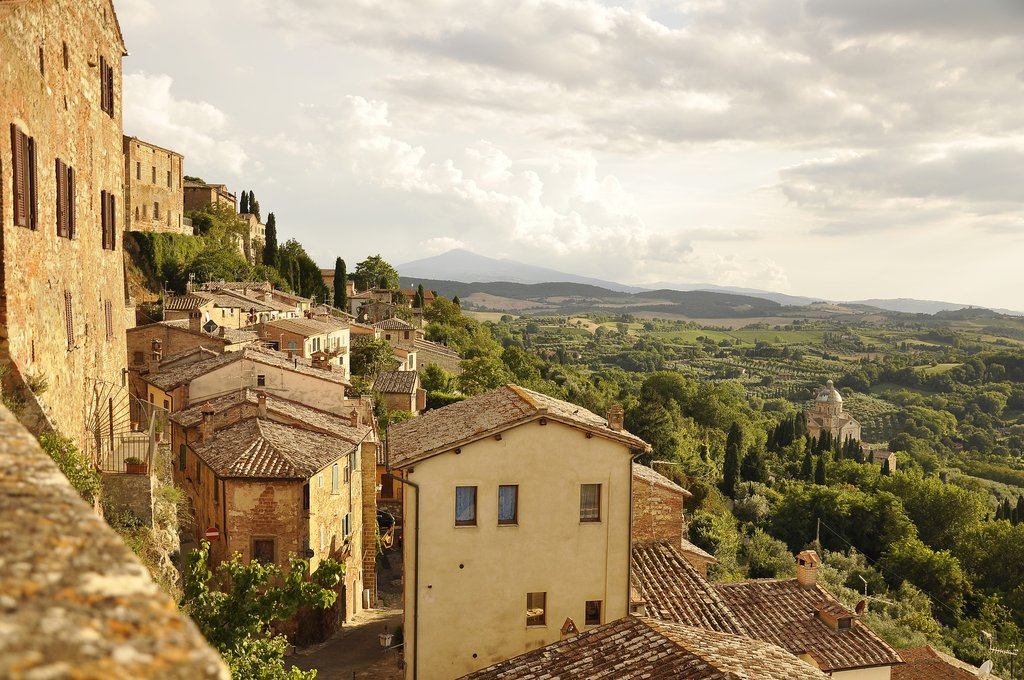 Montepulciano and Views of the Valley