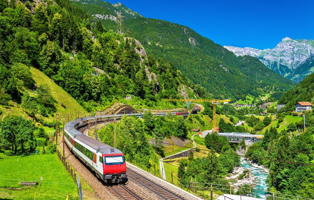 Gotthard Panoramic Train