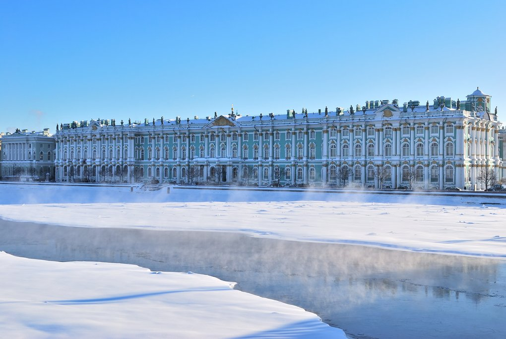 Hermitage in the Winter