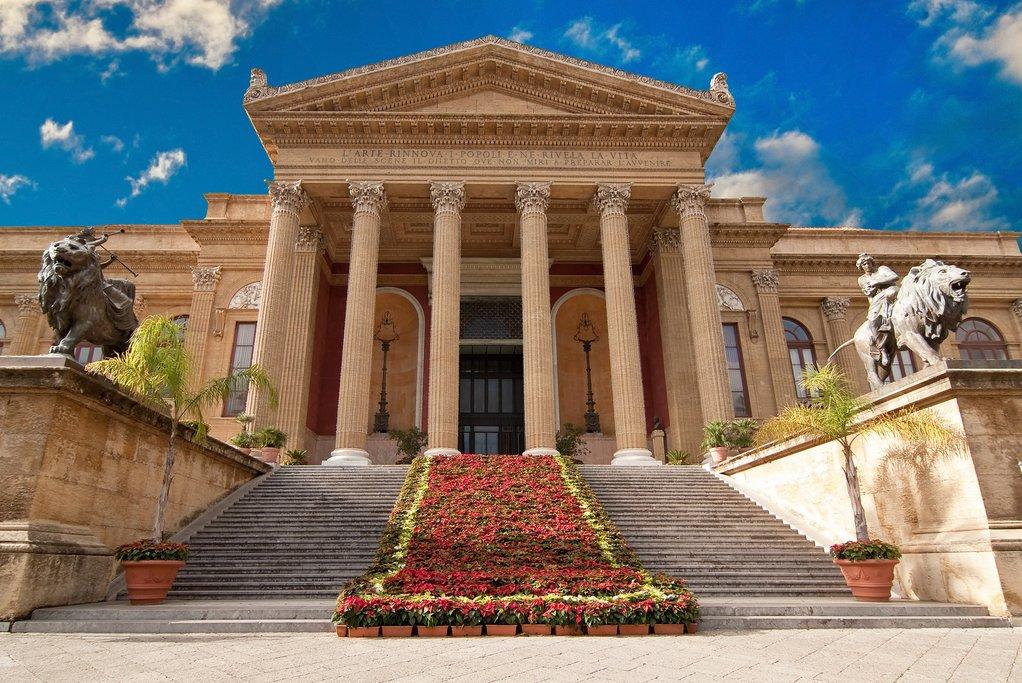Massimo Teatro, Palermo, Sicily, Italy