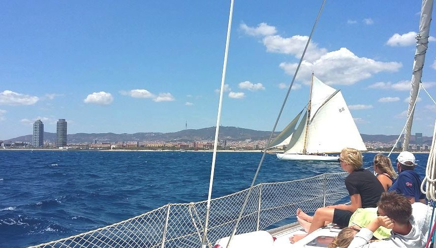 Get some fresh air as you sail the Mediterranean