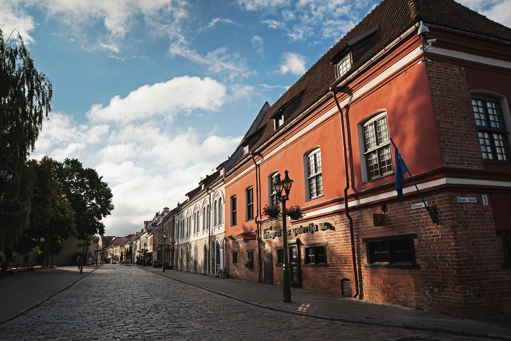 Streets of Kaunas, Lithuania