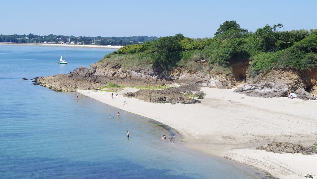 Concarneau beaches