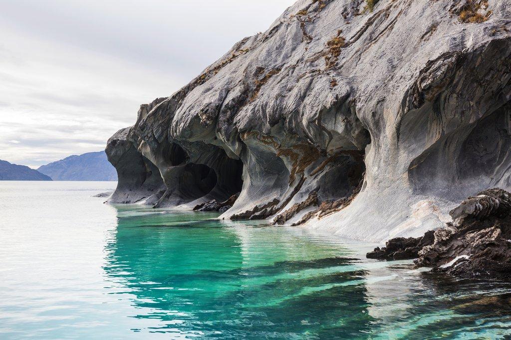 Cuevas de Marmol (Marble Caves) Chile