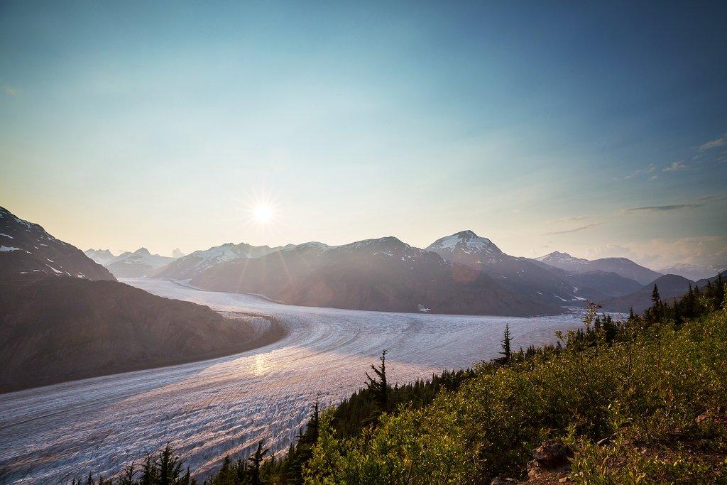 Salmon Glacier, Canada's fifth-largest glacier