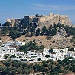 The Acropolis in Rhodes