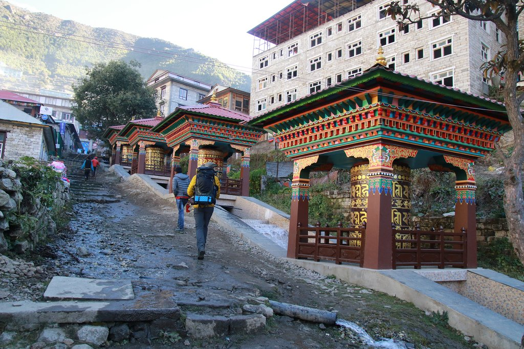 How to Get from Lukla to Namche Bazaar