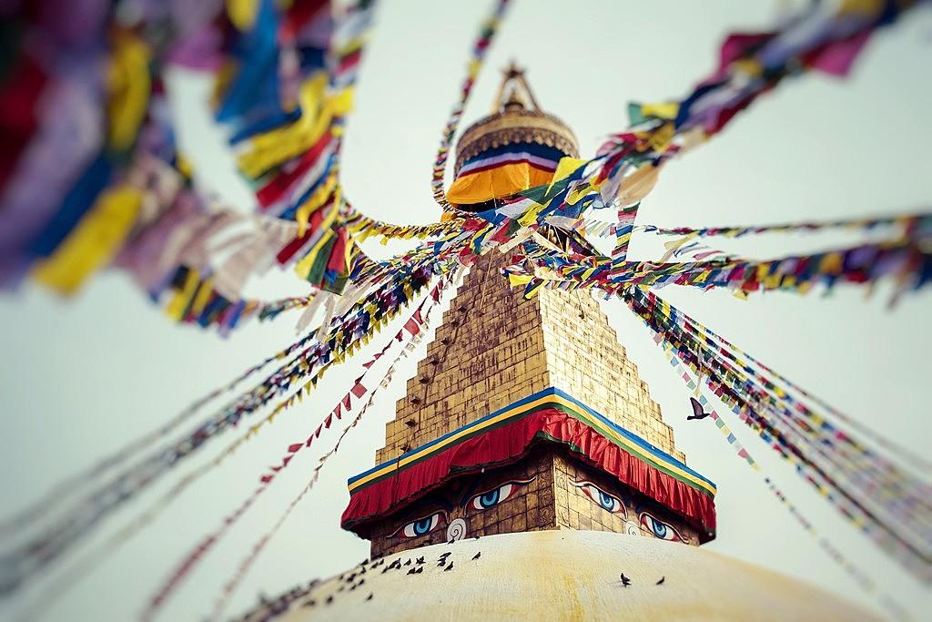 Boudhanath Stupa , Kathmandu , Nepal