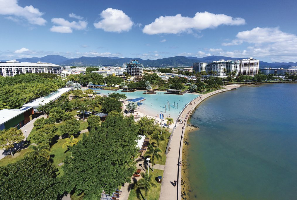 Panoramic view of Cairns