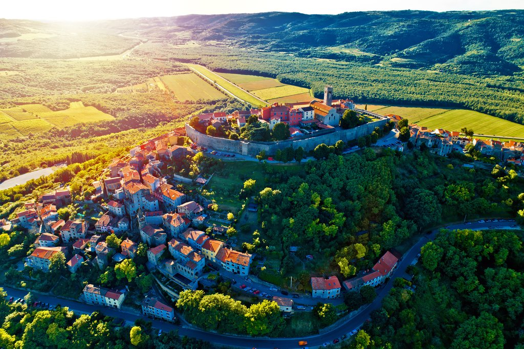 Motovun, one of Istria's many hill towns