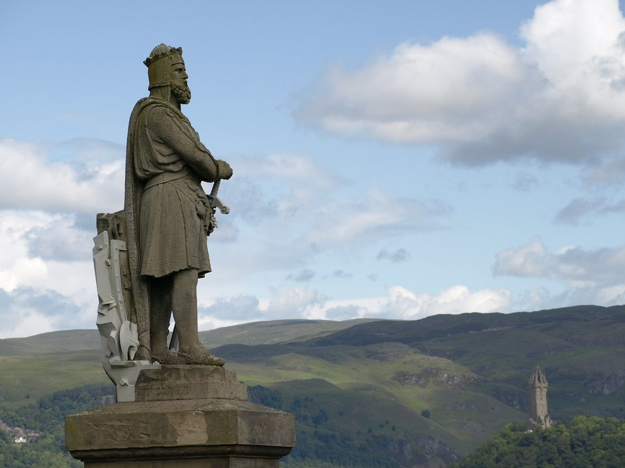 Statue Robert the Bruce