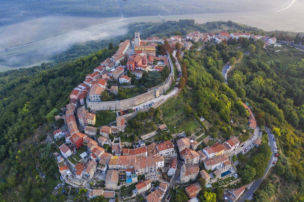 Croatia - Istria - Istria's charming hill town, Motovun