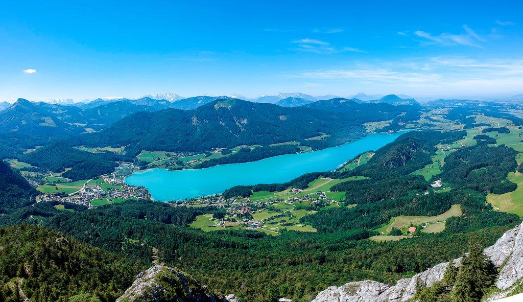 Lake Fuschl in Austria's stunning Salzkammergut
