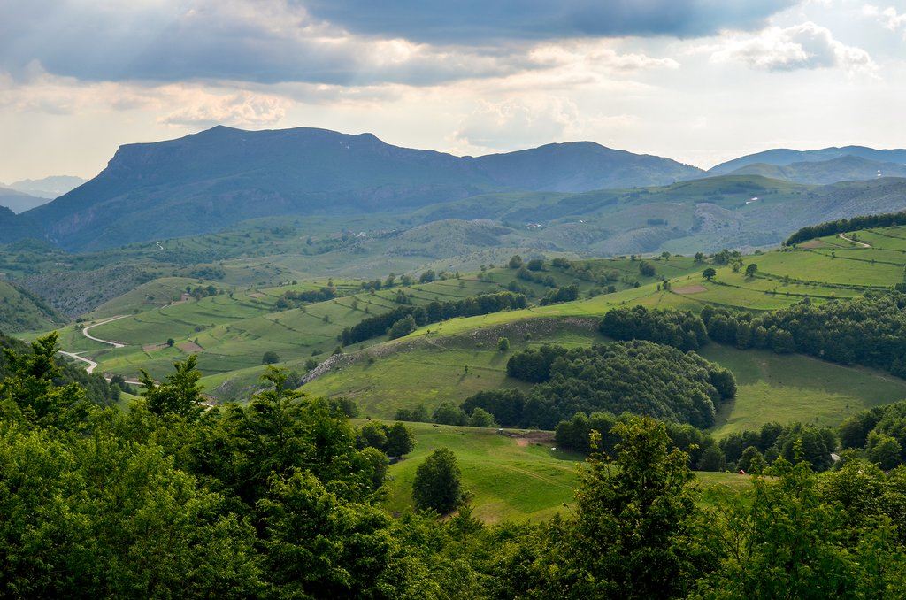 Hiking the Bjelašnica Mountains