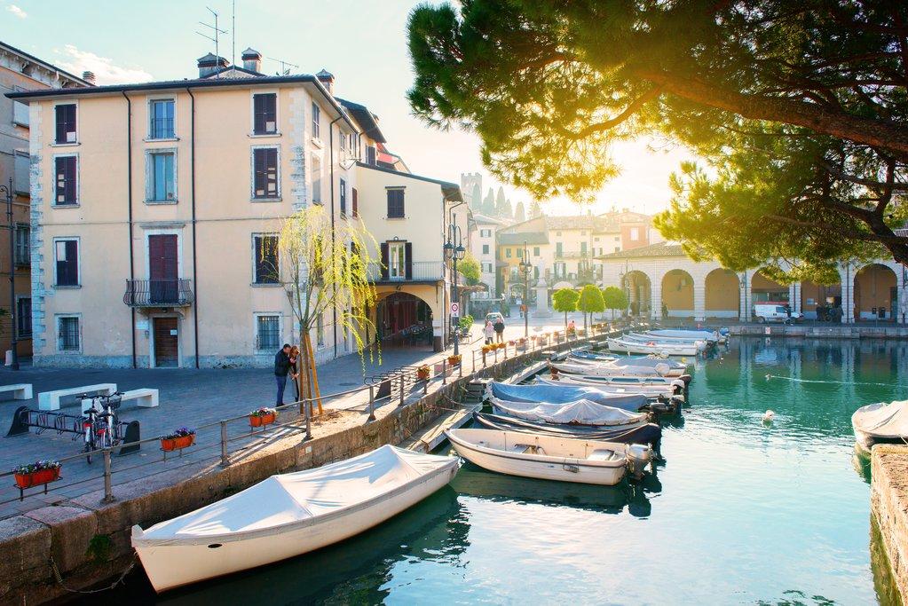 Fishing Boats on Lake Garda