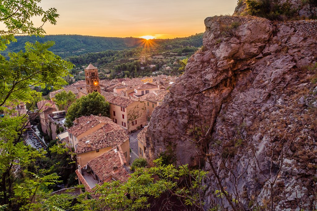 Moustiers-Sainte-Marie village