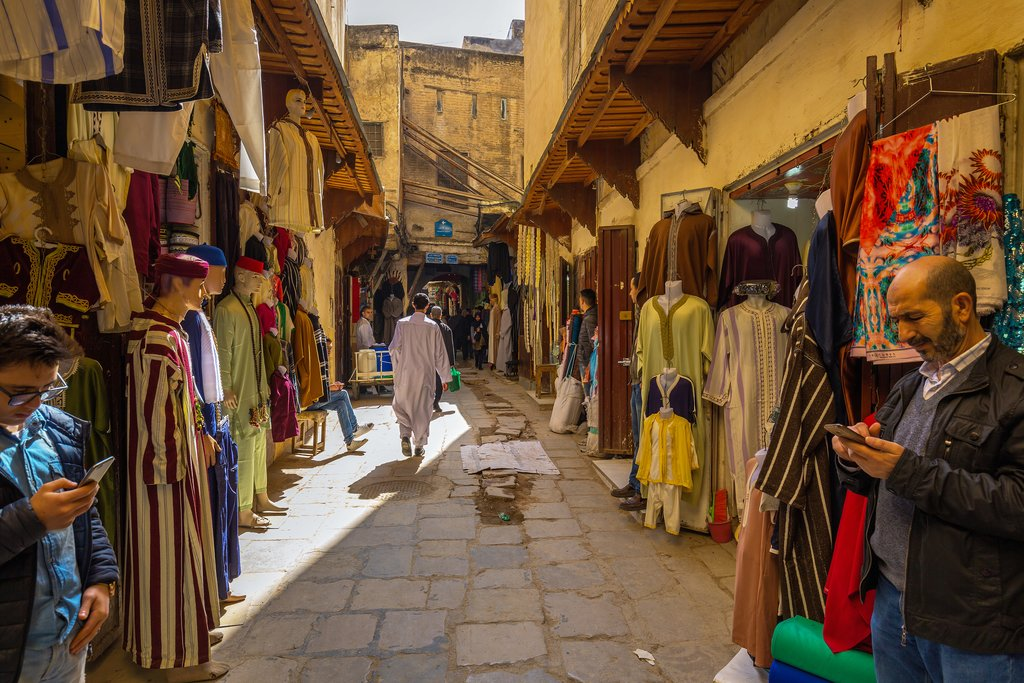 Old medina in Fes, Morocco
