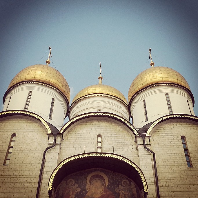 Dormition Cathedral, Kremlin