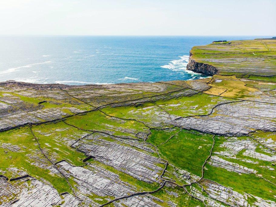 Aerial Views of Inishmore, Aran Islands