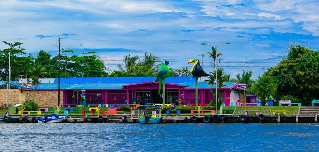 Colorful Tortuguero Town