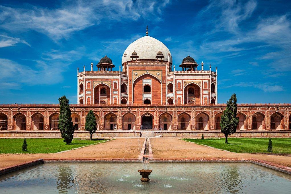 India - New Delhi - Humayun's Tomb