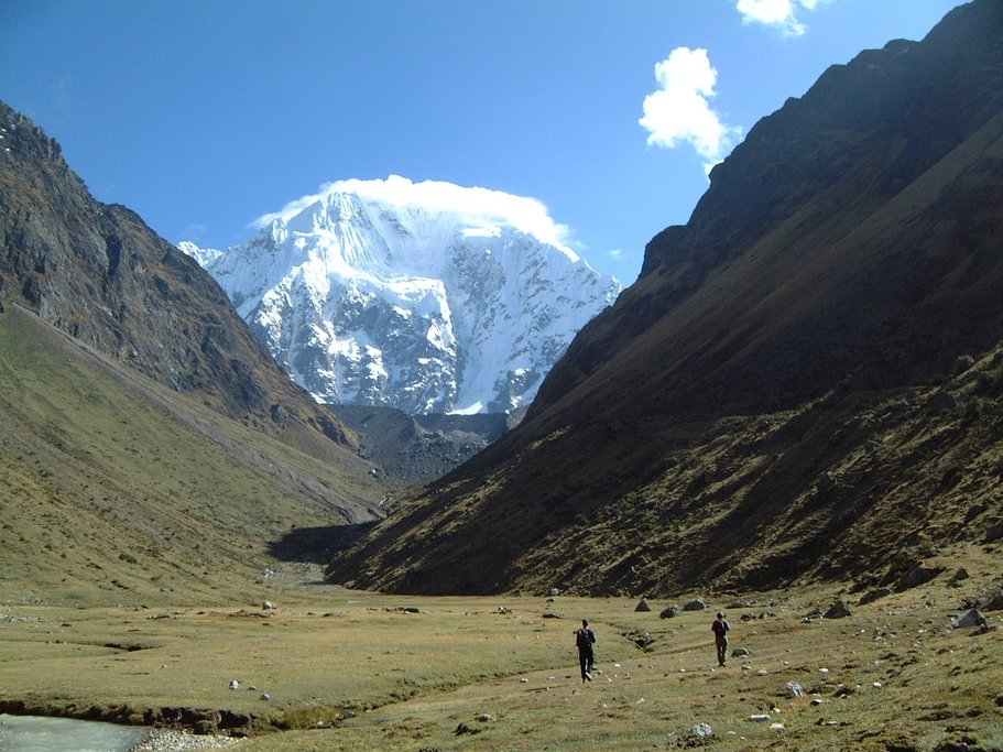 Trekking on the Salkantay trail