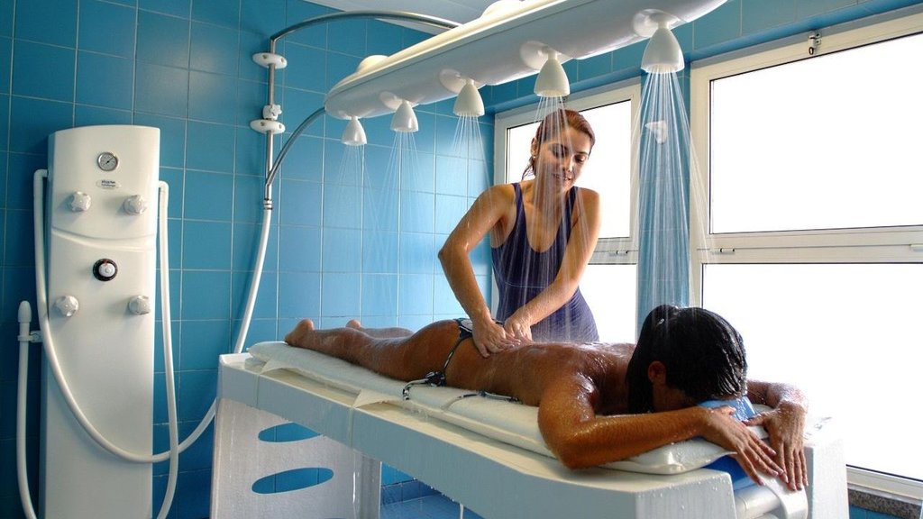 Thermal Spa Treatments with Alkaline Water