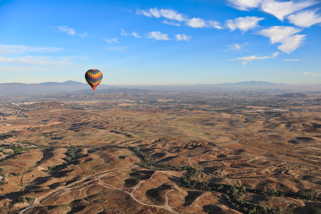 Hot Air Balloon over Temecula