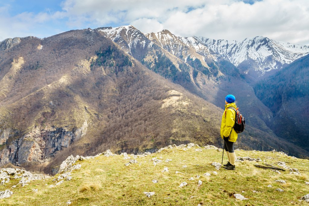 Hiking in the Dinaric Alps, Bosnia
