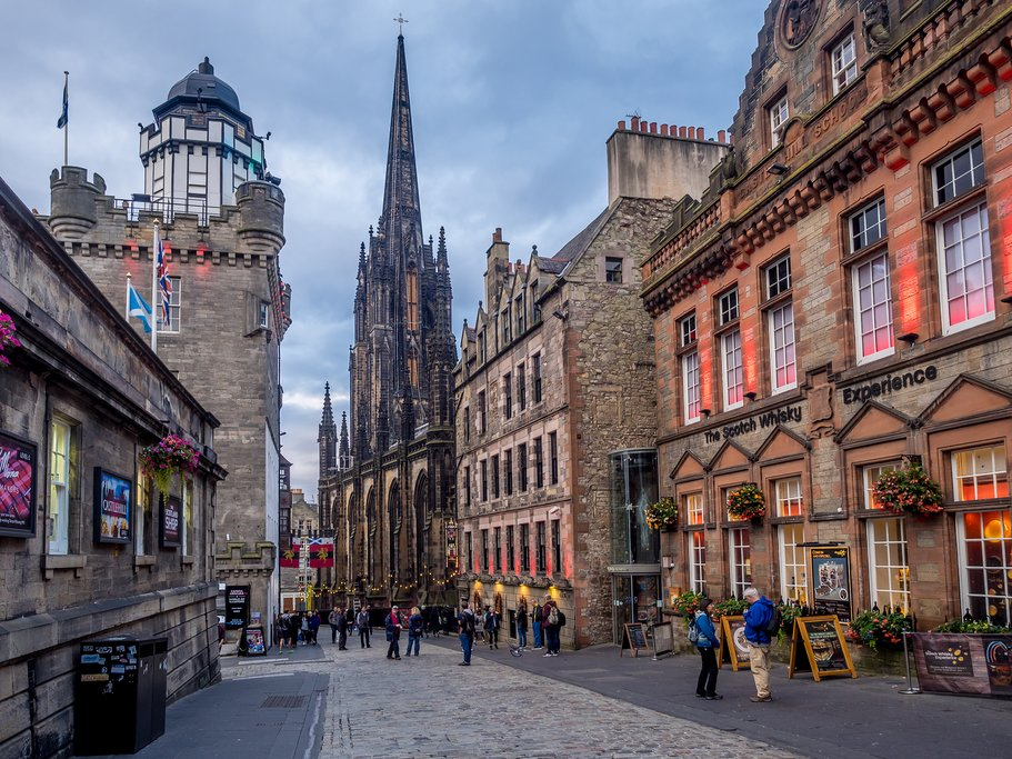 Scotland - Edinburgh, Royal Mile