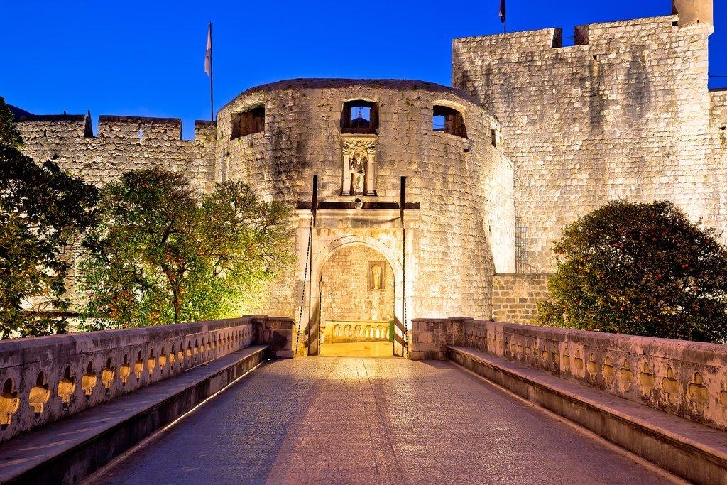 Croatia - Dubrovnik - Pile Gate