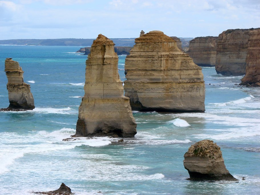 Take the scenic drive along Great Ocean Road