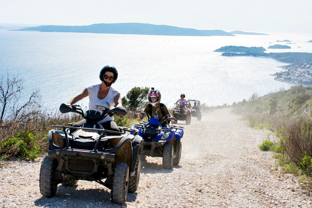 Discover the Dalmatian hinterland on an ATV tour