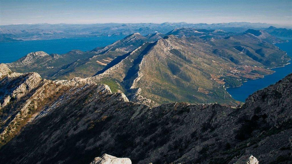 The Pelješac ridge