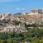 Begin the tour at the Parthenon