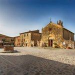 Small medieval village Monteriggioni