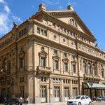 The Teatro Colon, in Buenos Aires