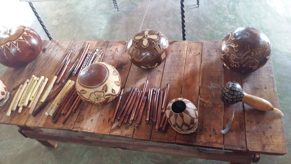 Traditional wood carvings