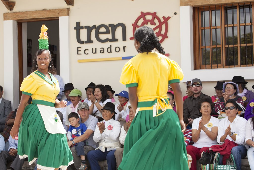 Afro-Ecuadorian community learning center
