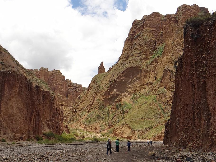 A view of Palca Canyon