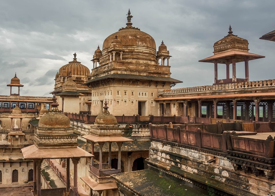 The fort in Orchha, the Lost City of India