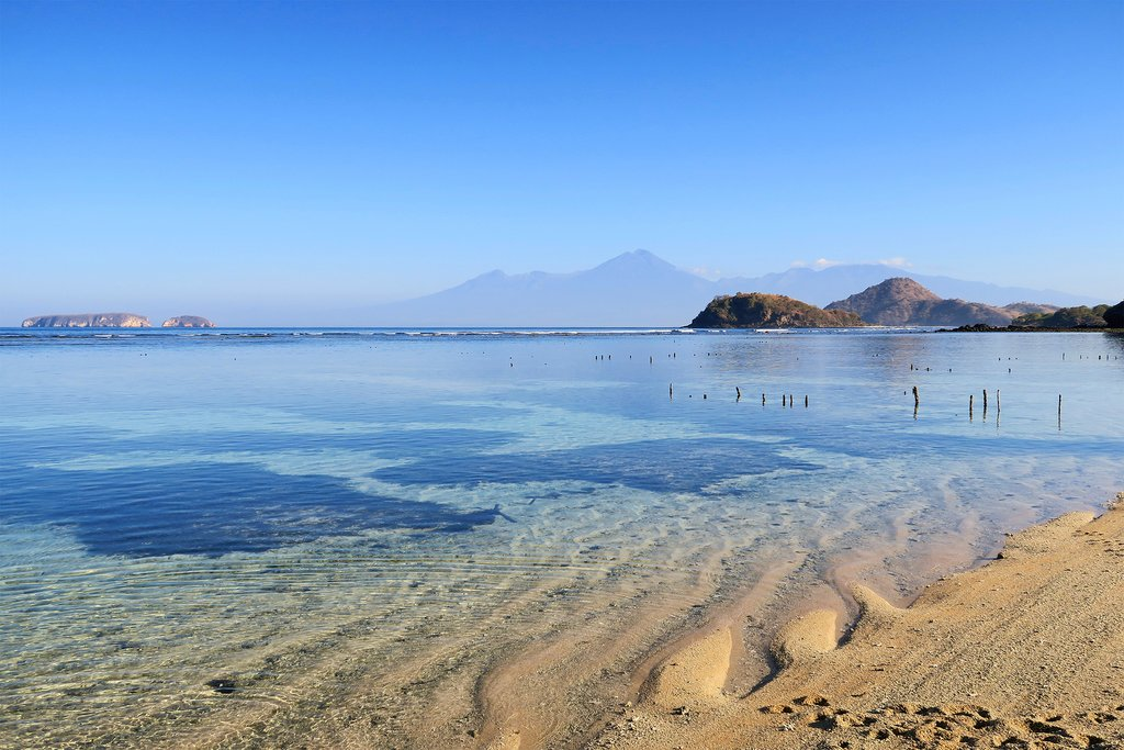 Sumbawa is famed for its untouched beaches