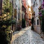 Explore Rovinj's maze-like streets