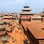 Patan Durbar Square, one of the Kathmandu Valley's UNESCO World Heritage Sites