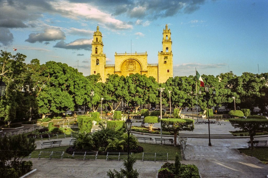 Merida's Cathedral