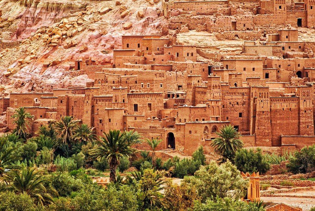 The Kasbah atAït Benhaddou