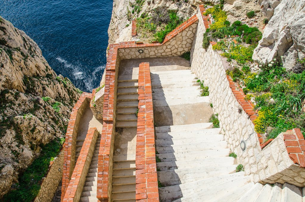 Stairs to the Caves of Neptune