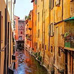 Secret Canal in Bologna
